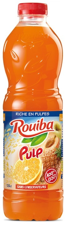 ROUIBA COCKTAIL FRUITS 1L