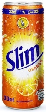 HAMOUD SLIM ORANGE UN PACK DE 24 EN 33CL