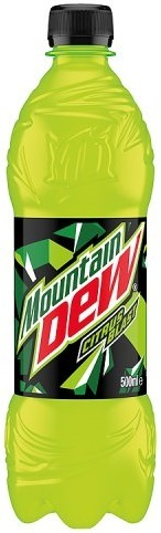 MOUNTAIN DEW UN PACK DE 6 EN 50CL